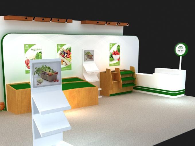 泰华芦村农产品展厅-终端形象整合-昆山做网站-昆山